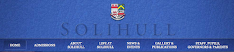 Solihull School Website logo